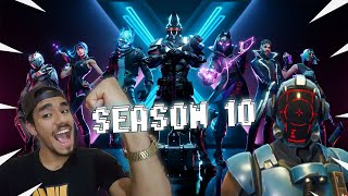ALL ABOUT SEASON X 10, PASS, MAP et CHALLENGES-FORTNITE BATTLE ROYALE