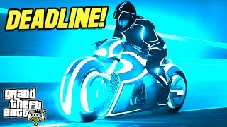 THE GTA 5 TRON CHALLENGE! (GTA 5 Versus : Deadline P1)