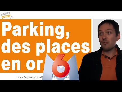 Reportage Parking des places en or - M6 journal