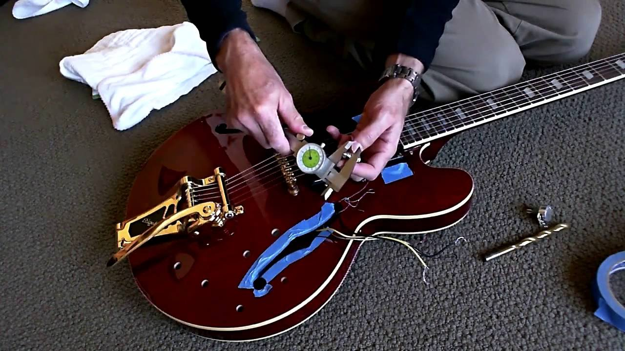 semi hollow body guitar wiring diagram [ 1280 x 720 Pixel ]