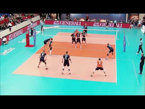 Volley Coubertin Fédérale Hommes 27. 03. 17 Ivan Todorovic
