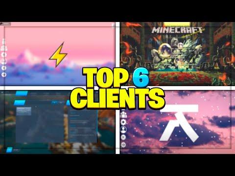 TOP 5 CLIENTS para MINECRAFT! - Pirata & Original