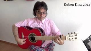 "Code of Buleria ""por medio"" Ruben Diaz Flamenco Guitar Lessons CFG Malaga"