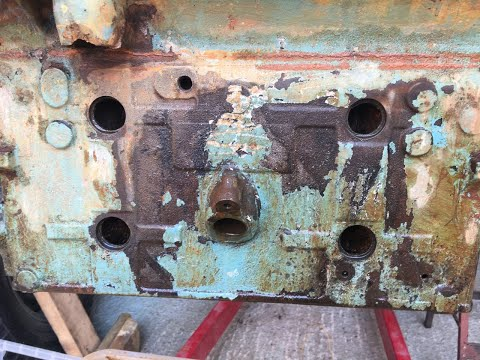 De-Rusting my Jeep engine block.(Not Model related)