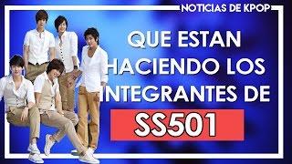 Que han estado haciendo los integrantes de SS501 desde su separació...