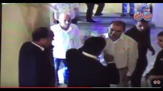 لحظة اعتداء نائب اردنى على عامل مصري في العقبة
