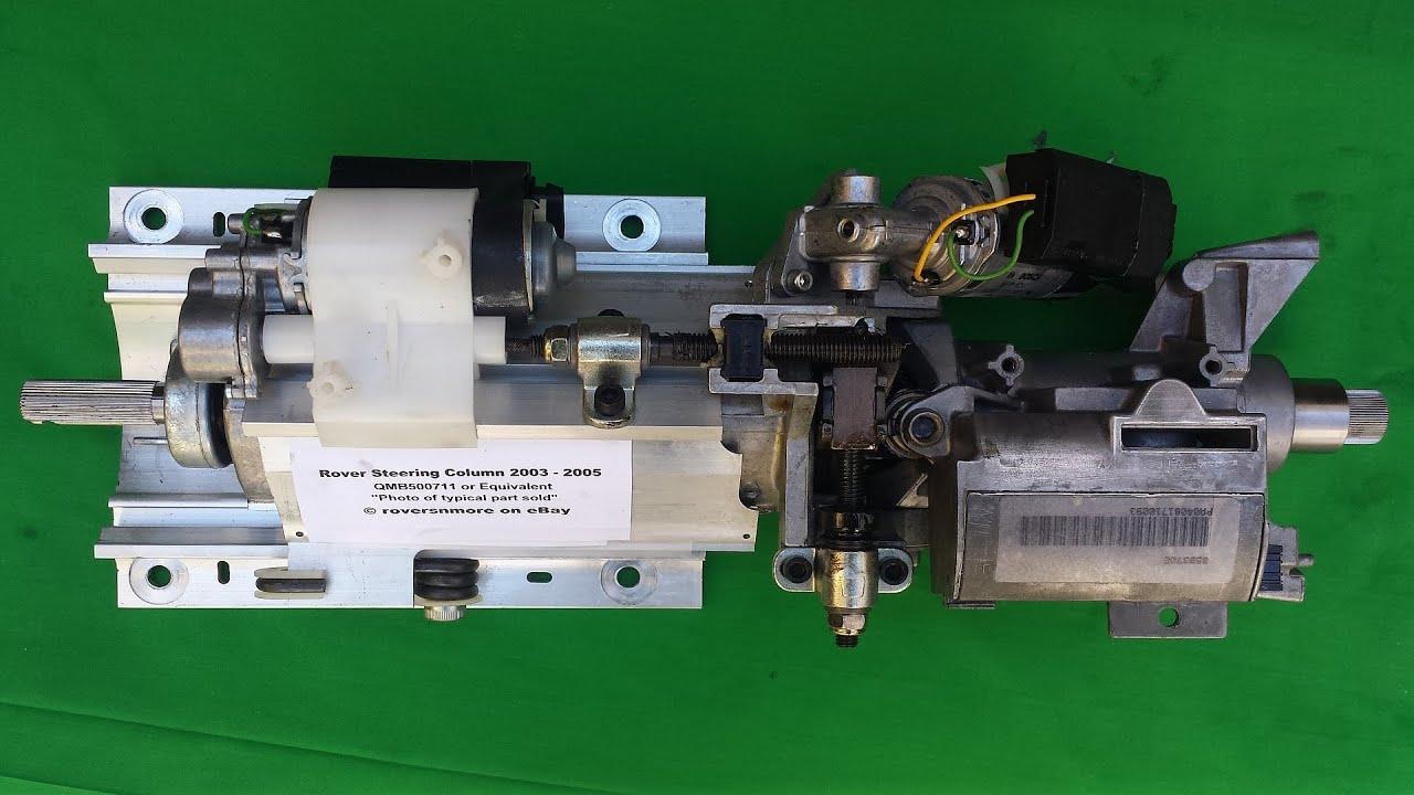 Range Rover L322 Steering Column Ecu Proper Sound