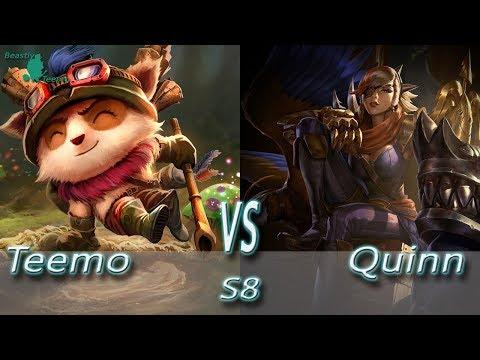 League of Legends - Teemo vs Quinn - S8 Ranked Gameplay (Season 8)