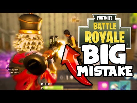 Fortnite: TOP 5 MISTAKES BAD PLAYERS MAKE In FORTNITE BATTLE ROYALE