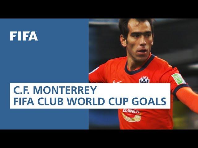 C.F. Monterrey FIFA Club World Cup Goals [2011-2013]