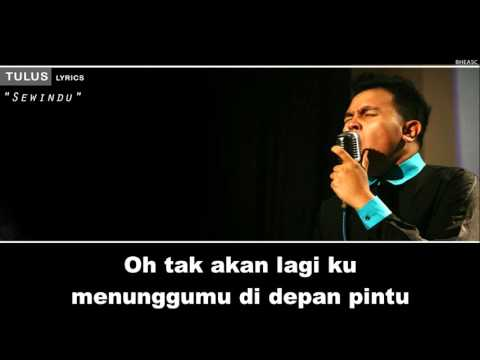 Tulus  Sewindu Lyrics