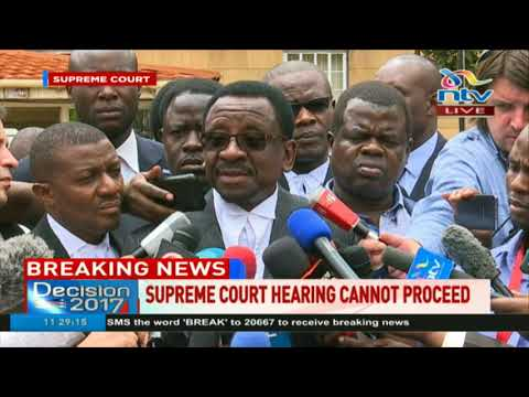 Supreme court quorum hitch was not accidental, James Orengo says