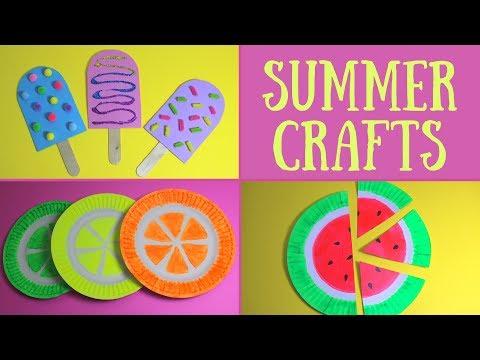 Easy Summer Crafts for Kids | Summer Craft Ideas
