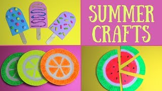 Easy Summer Crafts for Kids | Summer Craft Ideas