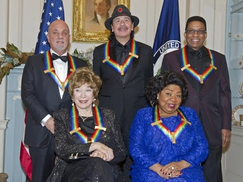 The 36th Kennedy Center Honors 2013 (FULL): Arroyo/Hancock/Joel/MacLaine/Santana