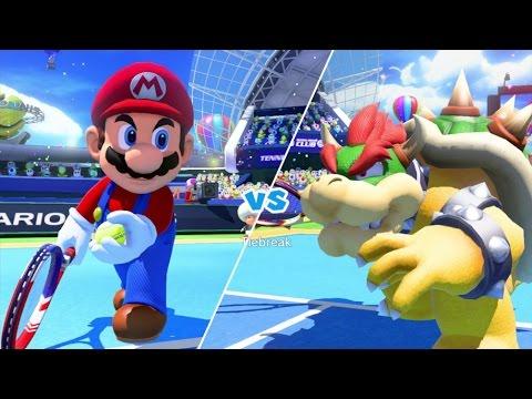 Download Youtube: Mario Tennis: Ultra Smash Walkthrough Part 1 - Knockout Challenge (Unlocking Star Mario)