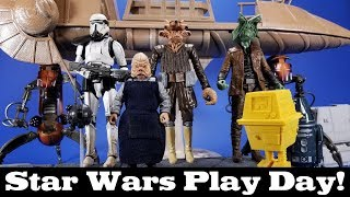 Star Wars Play Day! Customs, 3D Prints, Third Party and Official Items for a 6-inch Display