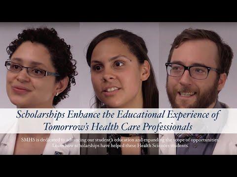 GW SMHS PA Students Talk Scholarships