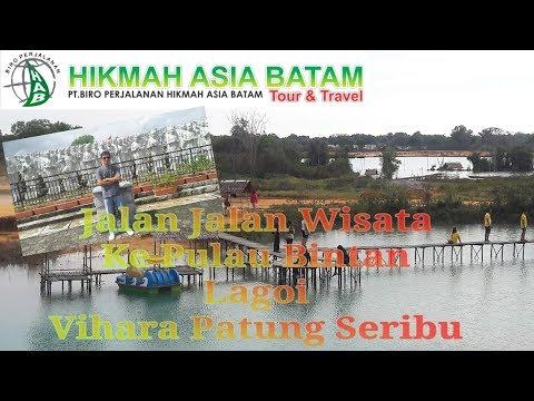 Jalan jalan Wisata Pulau Bintan Lagoi / Wisata Kota Tanjung Pinang / Wisata  Religi Pulau Penyengat