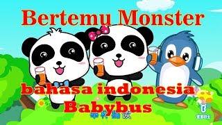 babybus bahasa indonesia - bertemu monster besar