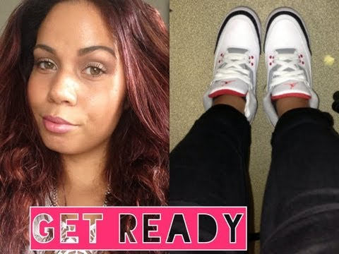 so get ready get ready lvre pop cheveux acajou jordan iii fire red youtube - Coloration Cheveux Auburn