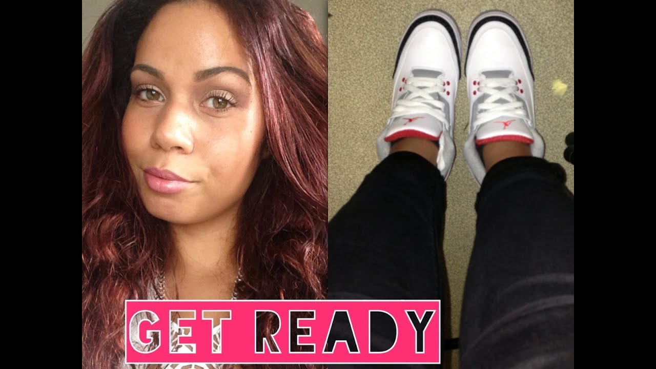 so get ready get ready lvre pop cheveux acajou jordan iii fire red - Coloration Brun Auburn