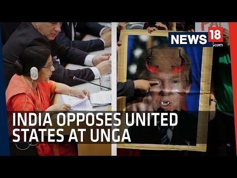 India Votes On Jerusalem Against US, Israel At United Nations | Trump's Declaration Sparks Protests
