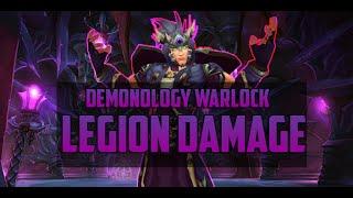 How Demonology Warlock Burst Damage - Legion PvP