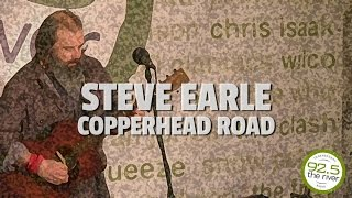 Steve Earle performs