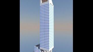 Minecraft : Citigroup Center ( New York ) tutorial part 1