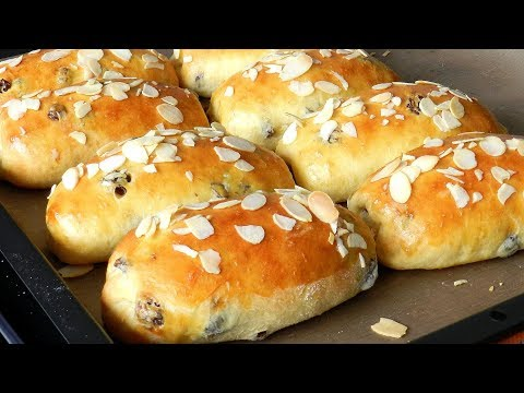 Easy Raisins Bread Rolls