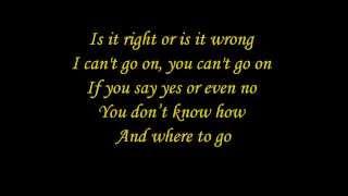 Repeat youtube video Elaiza - Is It Right (lyrics)