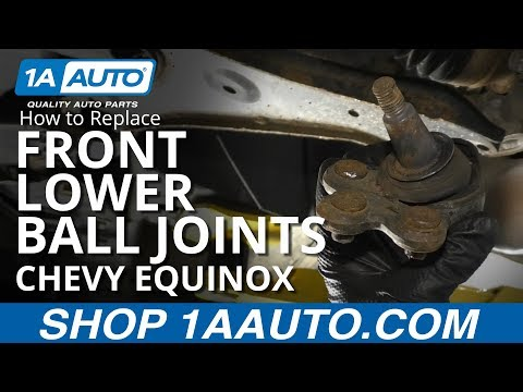 How to Replace Front Lower Ball Joint 10-16 Chevy Equinox