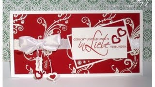 Hochzeitseinladung - Gesucht und gefunden, in Liebe verbunden