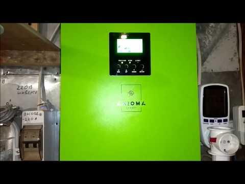 Дополнение к ролику (Добавил 600 Вт панелей для солнечной электростанции 48 Вольт)