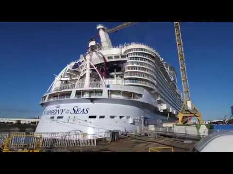 Symphony Of The Seas Cel Mai Mare Vas De Croaziera De La