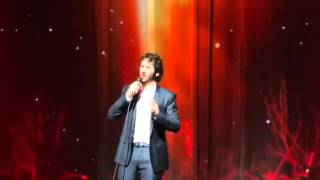 Josh Groban with Jack Groban on Trumpet Old Devil Moon Los Angeles10302015