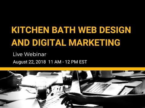 Kitchen Bath Web Design and Digital Marketing  1