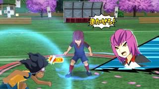 Inazuma Eleven GO Strikers 2013 Raimon Go vs Fifth Sector WII (Dolphin Emulator)