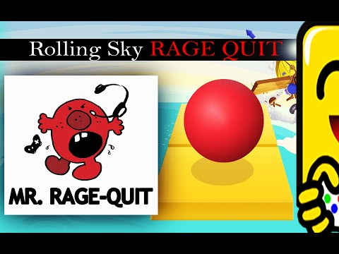 Rolling Sky RAGE QUIT (Commentary) #SuperflyStyle #SuperflyGaming