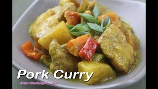 pork curry stir fry