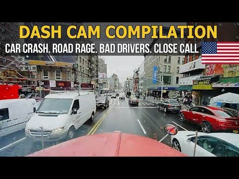 Dash Cam Compilation (USA) Car Crashes in America 2017   2018 # 64
