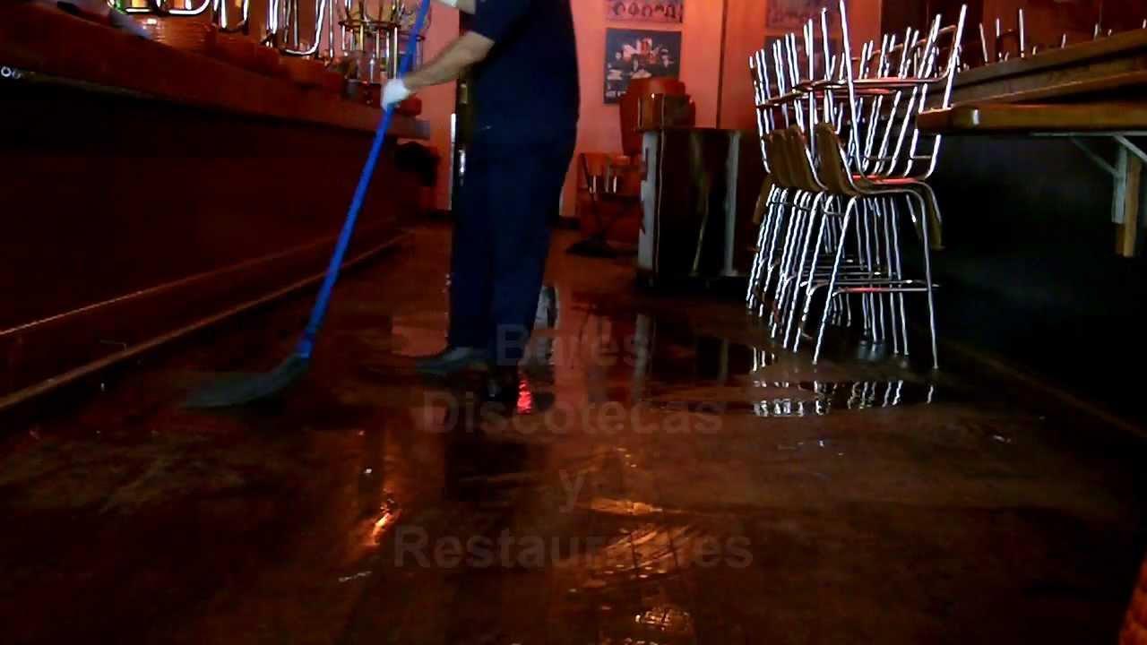 Servicio de limpieza de bares discotecas y restaurantes - Suelos para bares ...