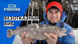 БЕЗОТКАЗНЫЙ ВИБ для пассивной рыбы Зимняя рыбалка ВихровLIFE