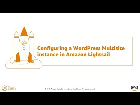 Configuring WordPress Multisite in Amazon Lightsail