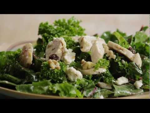 How to Make Kale, Swiss Chard, Chicken and Feta Salad | Salad Recipe | Allrecipes.com