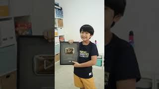 #Shorts   Koleksi YouTube Play Button Ziyan