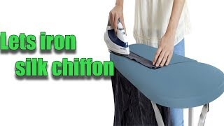 The best iron. How to iron the silk dress?