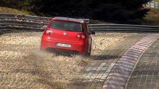 Nordschleife Touristenfahrten #111 Highlights, Fails & Slides (Flashback to 2015, Pt 1) Nürburgring