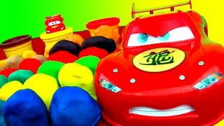 30 Surprise Eggs Play-Doh Surprise Egg Toys Disney Cars Angry Birds Spongebob Spiderman Play-dough!